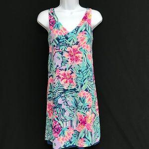 Lilly Pulitzer Sleeveless V-Neck Dress NWT